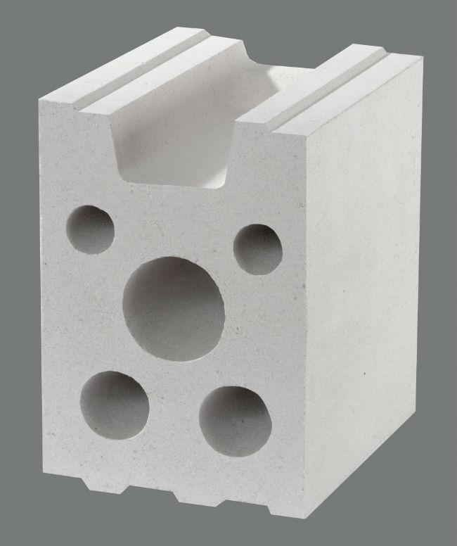 Ściany szczelinowe zbudowane zpomocą bloczków silikatowych